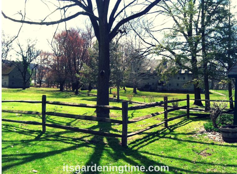 """Historic Ephrata PA """"Cloisters"""" how to garden beginner gardener"""